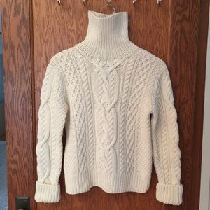 Ralph Lauren▪️Hand-Knit Fisherman's Sweater